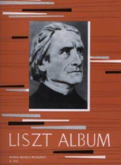 Franz Liszt - Album Pour Piano - Partition - di-arezzo.fr