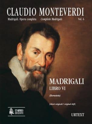 Claudio Monteverdi - Madrigali Libro 6 - Partition - di-arezzo.fr