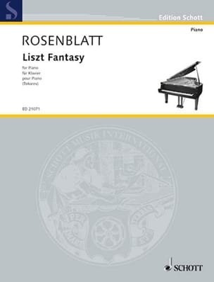 Alexander Rosenblatt - Liszt Fantasy - Partition - di-arezzo.fr