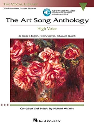 - The Art Of Song Anthology. Voix Haute - Partition - di-arezzo.fr
