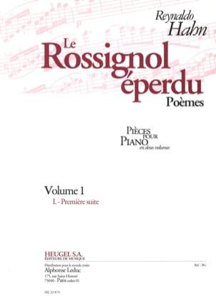 Le Rossignol Eperdu. Poèmes Volume 1 Reynaldo Hahn laflutedepan
