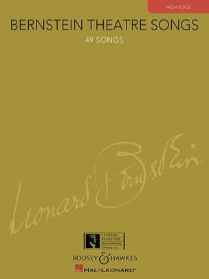 Leonard Bernstein - Bernstein Theater Songs. Aloud - Sheet Music - di-arezzo.co.uk
