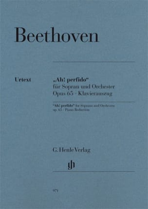 BEETHOVEN - Ah! Perfido Opus 65 - Partition - di-arezzo.fr