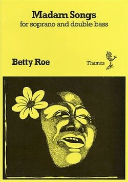 Betty Roe - Madam Songs - Partition - di-arezzo.fr