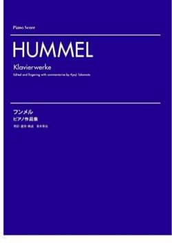 Klavierwerke HUMMEL Partition Piano - laflutedepan