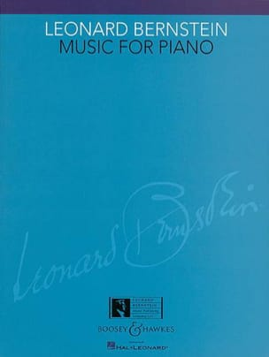 Music For Piano BERNSTEIN Partition Piano - laflutedepan