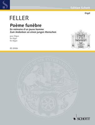 Harald Feller - 葬儀の詩 - 楽譜 - di-arezzo.jp