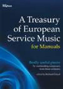 A Treasury Of European Music Service - Sheet Music - di-arezzo.com