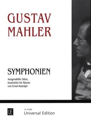 Symphonien MAHLER Partition Piano - laflutedepan