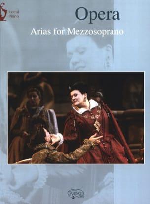 - Opera Arias. Mezzo - Partition - di-arezzo.fr
