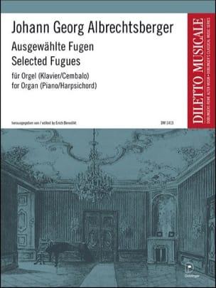 Ausgewählte Fugen Johann Georg Albrechtsberger Partition laflutedepan