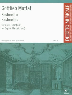 Pastorellas - Gottlieb Muffat - Partition - Orgue - laflutedepan.com