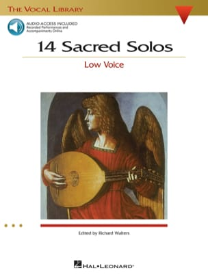14 Sacred Solos. Voix Grave - Partition - laflutedepan.com
