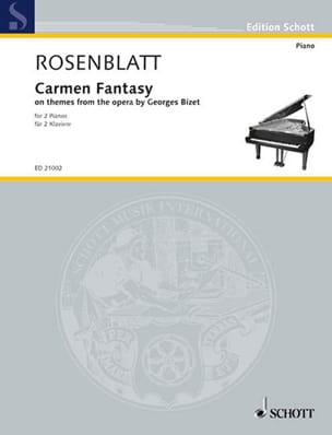Alexander Rosenblatt - Carmen Fantasy - Sheet Music - di-arezzo.co.uk