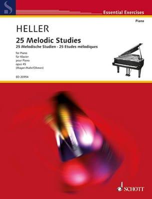 Stephen Heller - 25 Melodic Studies Op. 45 - Sheet Music - di-arezzo.com
