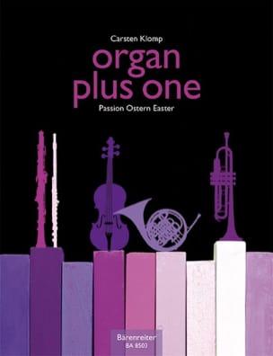 Organ Plus One. Pâques - Carsten Klomp - Partition - laflutedepan.com