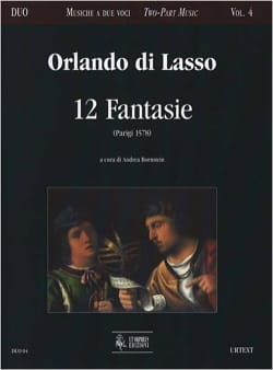 12 Fantasie Orlando di Lassus Partition Duos - laflutedepan