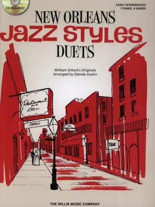 William Gillock - New Orleans Jazz Styles Duets - Sheet Music - di-arezzo.co.uk