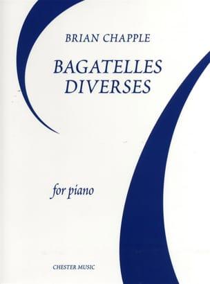 Bagatelles Diverses - Brian Chapple - Partition - laflutedepan.com