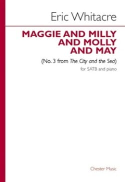 Eric Whitacre - Maggie And Milly And Molly And May - Partition - di-arezzo.fr