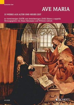 Ave Maria - Partition - Chœur - laflutedepan.com