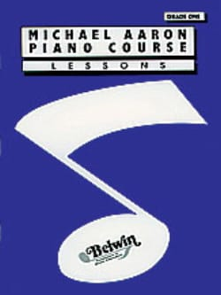 AARON - Piano Course Lessons Volume 1 - Version Anglaise - Partition - di-arezzo.fr