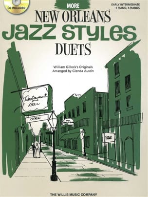 William Gillock - More New Orleans Jazz Styles Duets - Partition - di-arezzo.fr