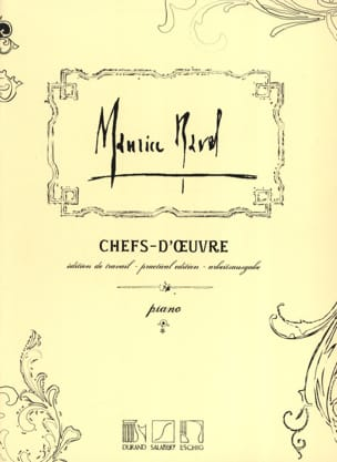 Maurice Ravel - Chefs-D'oeuvre - Partition - di-arezzo.fr