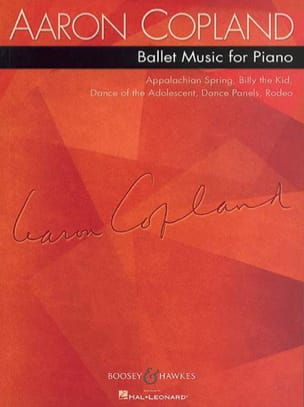 Ballet Music For Piano - Aaron Copland - Partition - laflutedepan.com