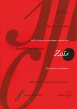 Jean-Philippe Rameau - Zaïs - Sheet Music - di-arezzo.co.uk