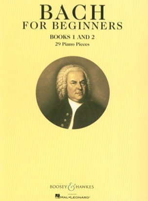 BACH - Bach For Beginners. Book 1 And 2 - Partition - di-arezzo.fr
