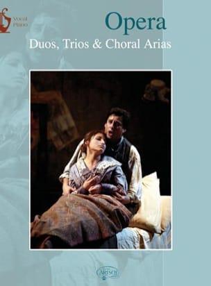 Opera Duos, Trios et Choral Arias. Partition Duos - laflutedepan