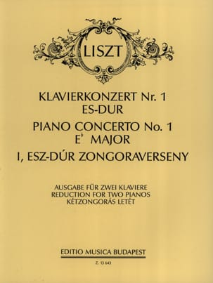 Franz Liszt - Eフラットメジャー第1番コンチェルト - 楽譜 - di-arezzo.jp