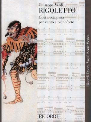 VERDI - Rigoletto - Sheet Music - di-arezzo.co.uk