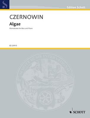 Chaya Czernowin - Algae - Sheet Music - di-arezzo.com