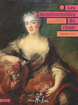 Jacqueline Bonnardot - The Incontournables Du Chant - Soprano Volume 2 - Sheet Music - di-arezzo.com