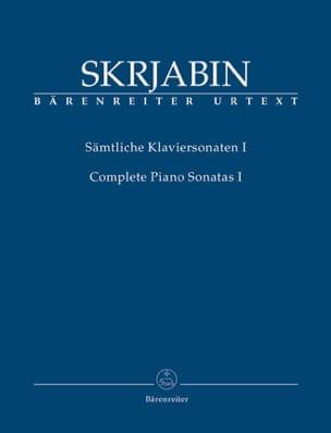 Sonates complètes. Volume 1 - Alexander Scriabine - laflutedepan.com