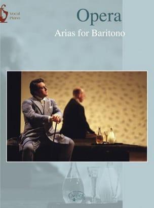- Opera Arias Baryton - Partition - di-arezzo.fr