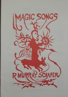 Magic Songs TTBB Raymond Murray Schäfer Partition Chœur - laflutedepan