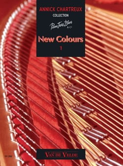 Annick Chartreux - New Colours Volume 1 - Partition - di-arezzo.fr