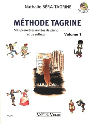 Méthode Tagrine - Volume 1 TAGRINE Partition Piano - laflutedepan