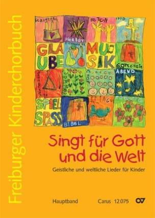 Singt Für Gott Und Die Welt - Partition - Chœur - laflutedepan.com