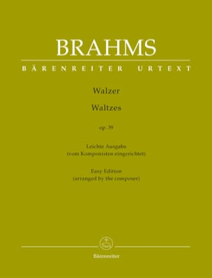 Walzer Op. 39 ( Arrangement Facile) - laflutedepan.com