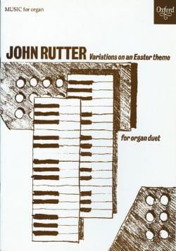 Variations On An Easter Theme - John Rutter - laflutedepan.com