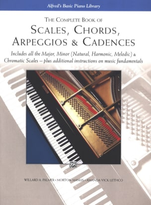 ALFRED - Scales, Chords, Arpeggios And Cadences. Complete Book - Sheet Music - di-arezzo.com