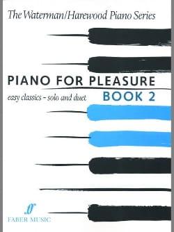 Piano For Pleasure Book 2 Waterman - Harewood Partition laflutedepan