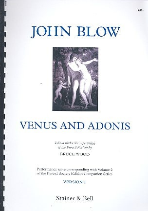 John Blow - Venus And Adonis Version 1 - Sheet Music - di-arezzo.com