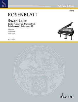 Swan Lake Alexander Rosenblatt Partition Piano - laflutedepan