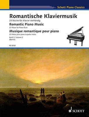 Romantische Klaviermusik Volume 2. 4 mains - laflutedepan.com