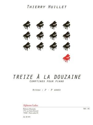 Treize A la Douzaine - Thierry Huillet - Partition - laflutedepan.com